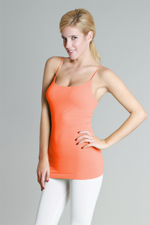 Famous Cami, Coral Peach