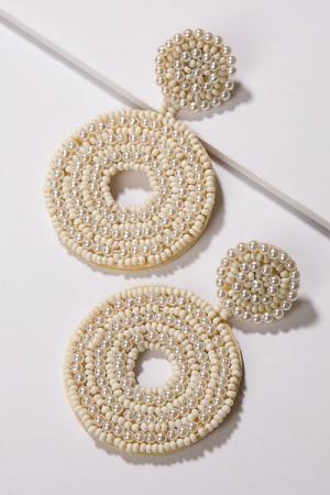 Pearl Rounders Earring