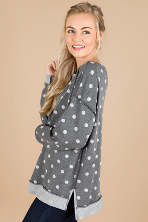 Dot This Way Sweatshirt