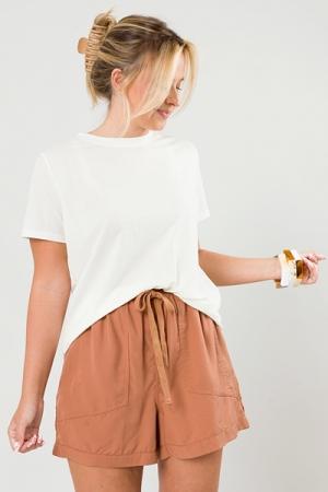 Desert Tencel Shorts