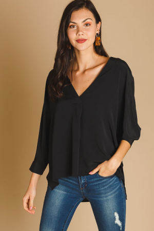 Back in Black Blouse