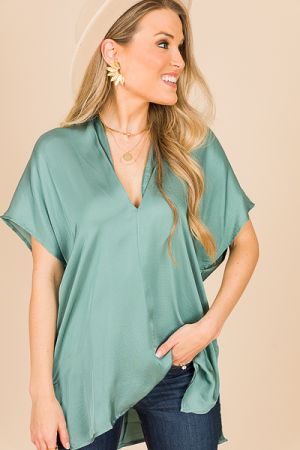 Classic Karlie Tunic, Silky Moss