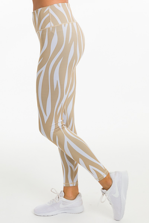 Golden Hour Zebra Leggings