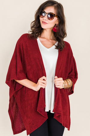 Wenlo Sweater, Crimson