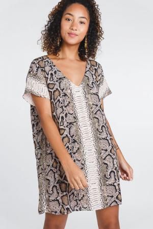 Baker Snake Dress
