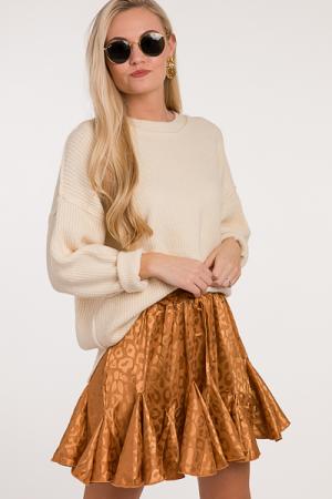 Toffee Shine Skirt