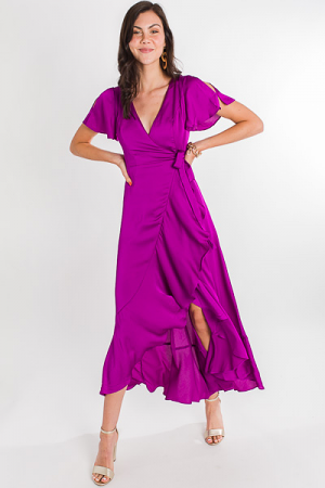 Glam Gal Purple Maxi