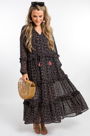Branch Out Maxi, Black