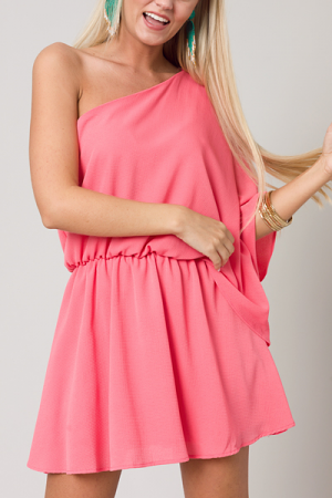 Charleston Dress, Coral