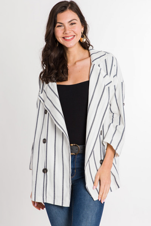 Oversized Sailor Jacket