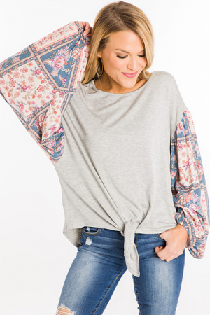 Printed Perfection Top