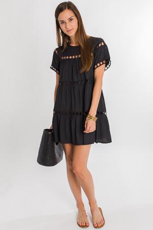 Room for Squares Dress, Black