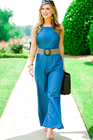 Amanda Denim Jumpsuit