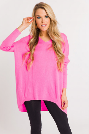 Fantasy Sweater, Pink