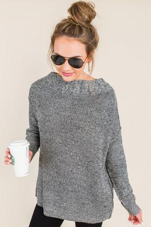 Alias Sweater, Black