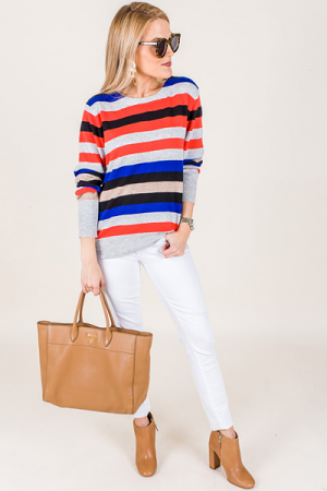 Kaley Striped Top