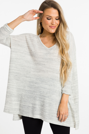 Great Indoors Tunic, Gray