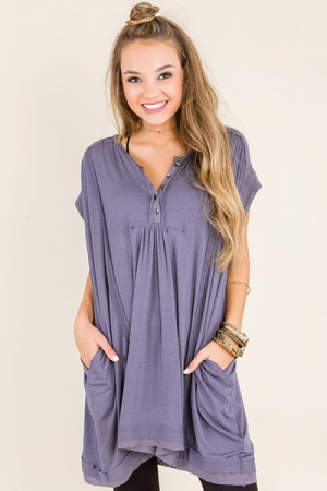 Blue Iris Dress