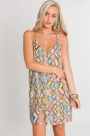 Snake Cami Dress