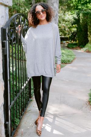 Leni Sweater, Gray