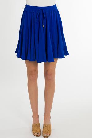 Float About Skirt, Cobalt