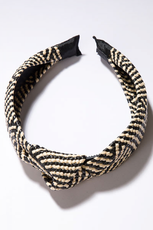 Black Basket Headband
