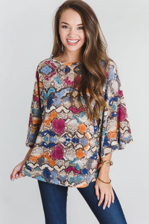 Fall Fiesty Snake Top