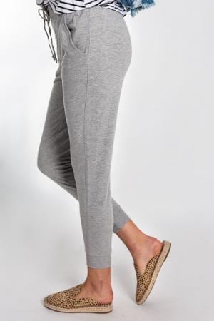 Comfy Jogger Pants, Grey