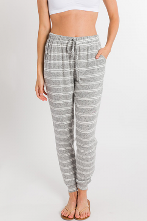 Double Time Striped Joggers