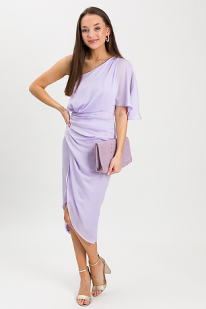 Cameron One Shoulder, Lavender