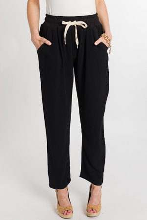 Casual Friday Pants, Black