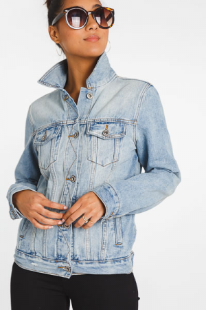 Essential Light Denim Jacket
