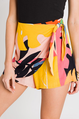 Peach Punch Skort