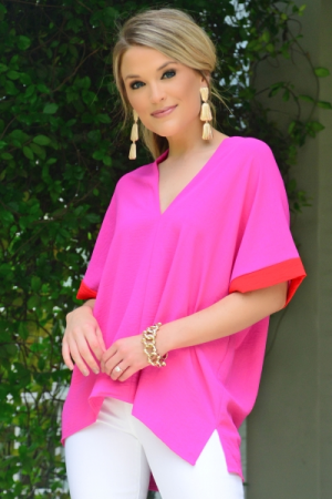 Classic Karlie Tunic, Colorblock