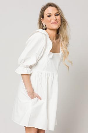 White Wishes Dress