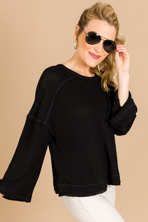 Boxy Thermal, Black