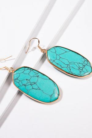 Britt Earring, Turquoise
