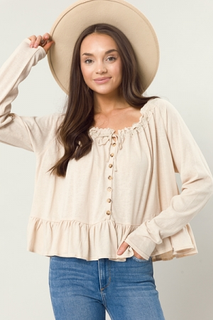 Best Of Me Knit Top, Natural