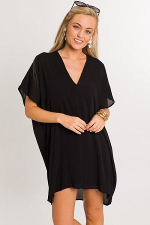 Classic Karlie Dress, Black