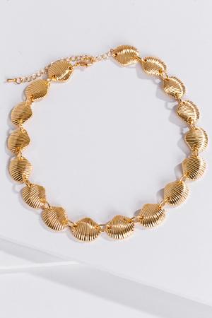 Golden Seashells Necklace