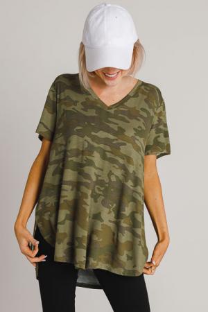 Dani T-Shirt, Camo