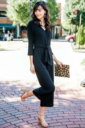 Ferris Jumpsuit, Black