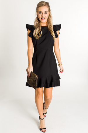 High Tea Dress, Black