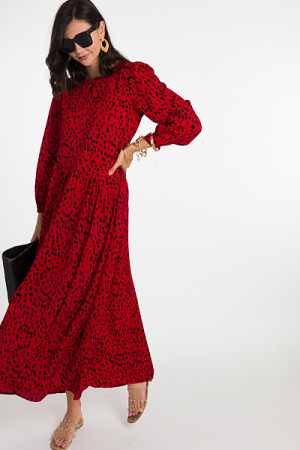 Just a Speck Maxi, Red