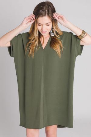 The Genie Dress, Olive