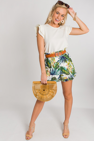 Tropical Palm Shorts