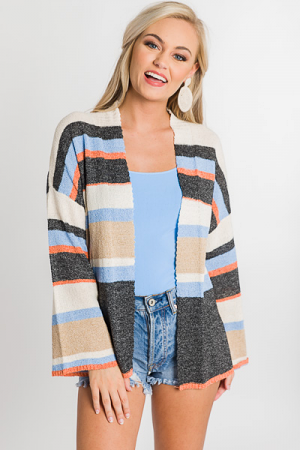 Tiger Stripes Cardi