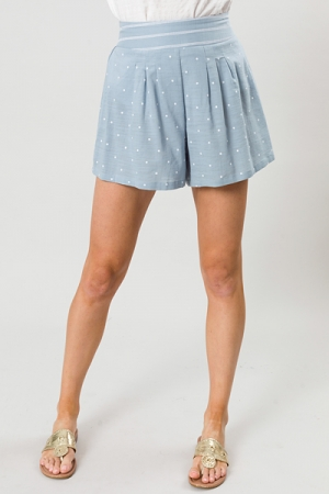 Sweet Spot Shorts, Light Blue
