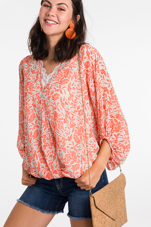 Layered Look Blouse