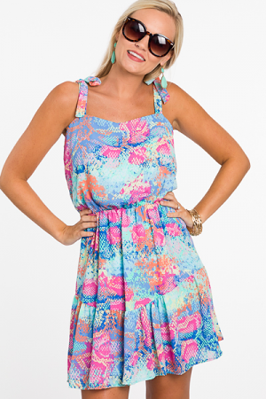 Colorful Snake Sundress